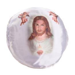 Подушка Альсария круглая подарочная 32х32