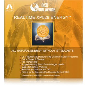 Квантовая голограмма OXO World Wide Realtime XP528 ENERGY для энергии (10 шт)