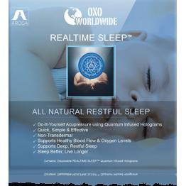 Квантовая голограмма OXO World Wide Realtime Sleep для сна (10 шт)