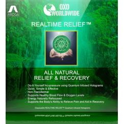 Квантовая голограмма OXO World Wide Realtime Relief от боли (42 шт)