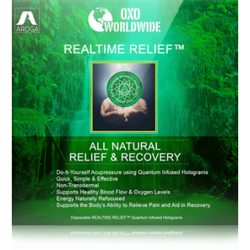 Квантовая голограмма OXO World Wide Realtime Relief от боли (10 шт)