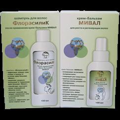 Набор крем-бальзам «Мивал» и шампунь «ФлорасилиК»