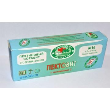 Пектовит с витамином С №16 (5,5г * 16шт)